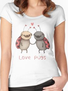 Love Pugs Women's Fitted Scoop T-Shirt