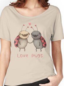 Love Pugs Women's Relaxed Fit T-Shirt