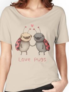 Love Pugs Women's Relaxed Fit T-Shirt