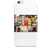 Hiroshige Utagawa - Sogoroku Game - 1860 - Woodcut iPhone Case/Skin