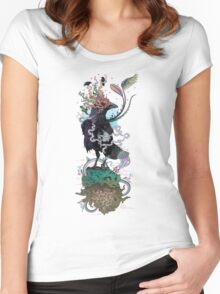You Are Free To Fly Women's Fitted Scoop T-Shirt