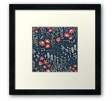 Flower Garden 001 Framed Print
