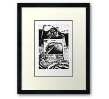 """""""Assassins of Death"""" pg 31 Framed Print"""