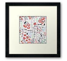 Flower Garden 002 Framed Print
