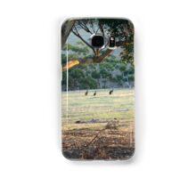 Kangaroos in the Field - Kangaroo Island  Samsung Galaxy Case/Skin