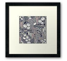 Flower Garden 003 Framed Print