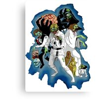 Star Wars Zombies Canvas Print