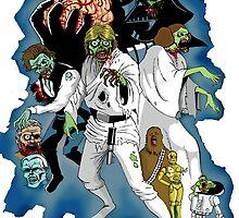 Star Wars Zombies by Spacebeast