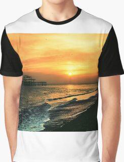 Brighton Dusk Graphic T-Shirt