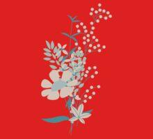 Flower Garden 004 One Piece - Short Sleeve