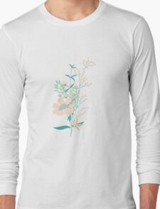 Flower Garden 004 Long Sleeve T-Shirt