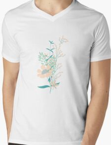 Flower Garden 004 Mens V-Neck T-Shirt