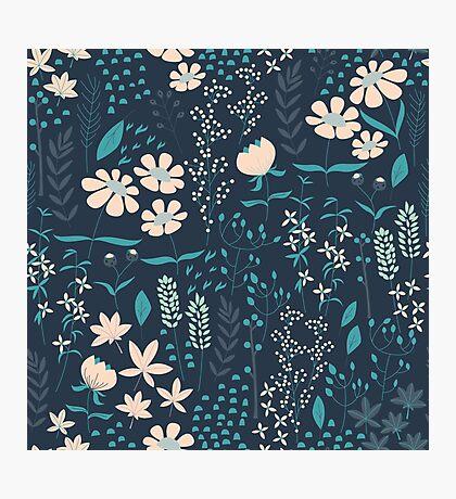 Flower Garden 004 Photographic Print