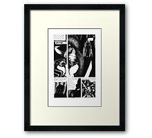 """""""Assassins of Death"""" pg 28 Framed Print"""