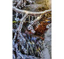 An Icy Creek Photographic Print
