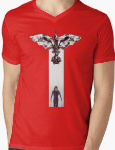 The Crows Mens V-Neck T-Shirt