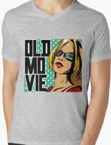 Old movie Mens V-Neck T-Shirt