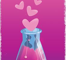 love chemistry cartoon love. by Nick  Greenaway