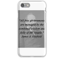 Garfield - Free Governments iPhone Case/Skin