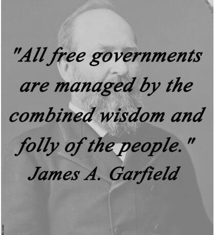 Garfield - Free Governments Sticker