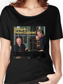 Sting & Peter Gabriel TOUR 2016 3a Women's Relaxed Fit T-Shirt