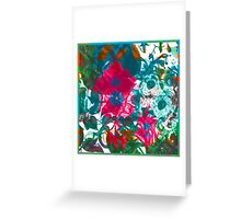 Flower Infusion Greeting Card