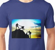 Helping each other to achieve success Unisex T-Shirt