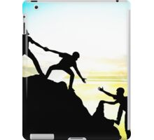 Helping each other to achieve success iPad Case/Skin