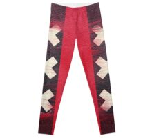 Amsterdam flag leather Leggings