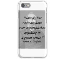 Garfield - Nobody But Radicals iPhone Case/Skin
