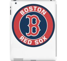 BOSTON RED SOX TEAM LOGO 2 iPad Case/Skin