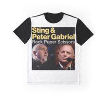 Sting & Peter Gabriel TOUR 2016 5 Graphic T-Shirt