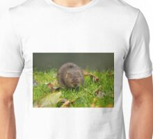 Water Vole on River Bank Unisex T-Shirt