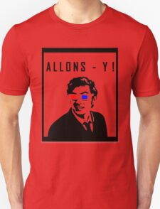Doctor Who - Allons- y Tenth Doctor T-Shirt