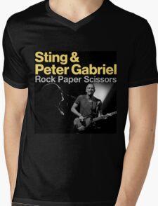 Sting & Peter Gabriel TOUR 2016 6 Mens V-Neck T-Shirt