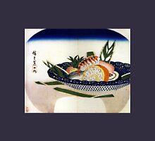 Utagawa Hiroshige Bowl of Sushi Unisex T-Shirt