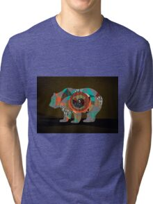 Multiskin Bear Tri-blend T-Shirt