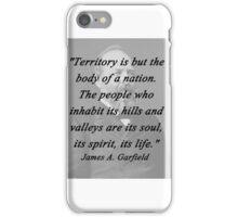 Garfield - Territory iPhone Case/Skin