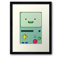 Adventure Time B-MO Framed Print