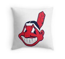 Cleveland Indians LOGO Throw Pillow