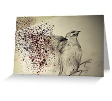 Fly Fly Bird  Greeting Card