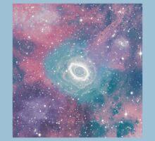 Colorful Galaxy   Baby Tee