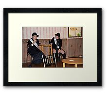 Welcome To Sadie's Saloon II Framed Print