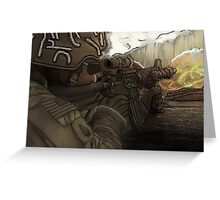 US ARMY Greeting Card