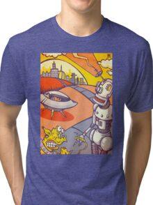 Time to walk the Grog. Tri-blend T-Shirt