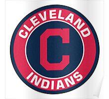 Cleveland Indians LOGO TEAM Poster