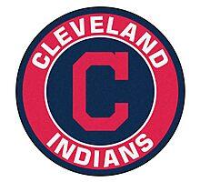 Cleveland Indians LOGO TEAM Photographic Print