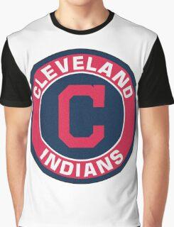 Cleveland Indians LOGO TEAM Graphic T-Shirt