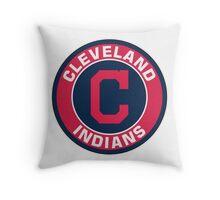 Cleveland Indians LOGO TEAM Throw Pillow