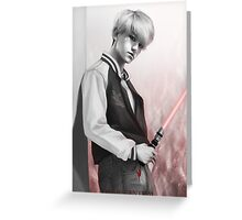 | The Dark Side | - Baekhyun Greeting Card